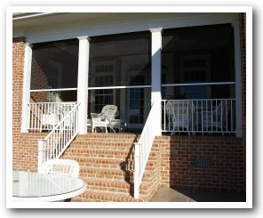 Power Retractable Screen Porch ...